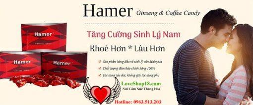 Hamer - Tăng Cường Sinh Lý Nam