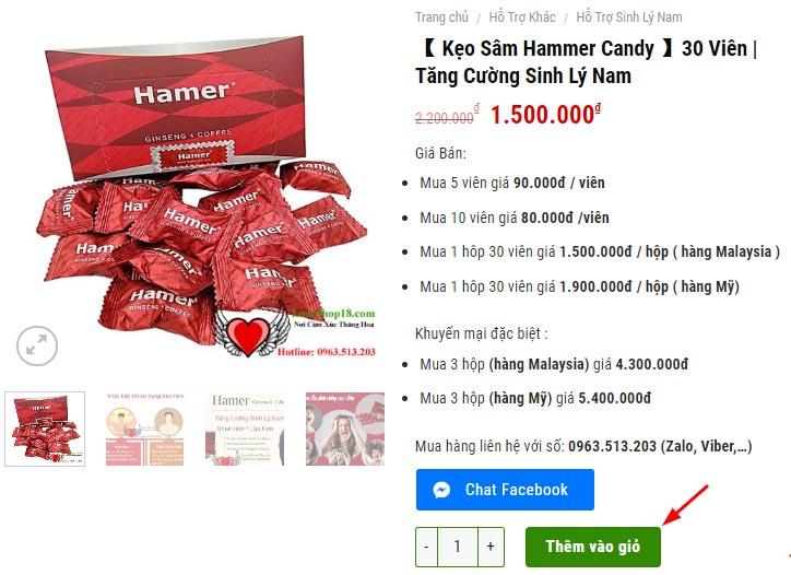 Kẹo Sâm Hamer Bán Ở Đâu?