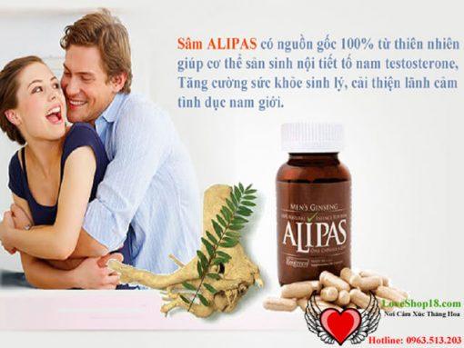 Cách Dùng Sâm Alipas Platinum