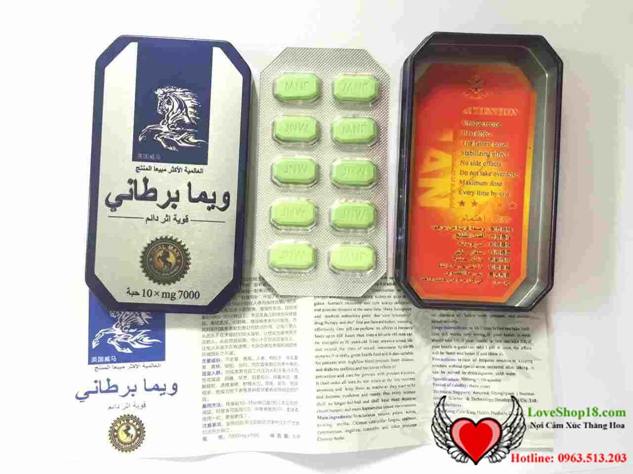Thuốc Con Ngựa Thái 7000mg