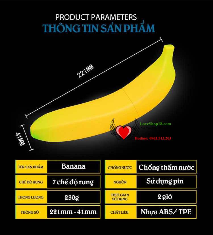 Dương Vật Giả Moylan Banana