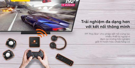 FPT Play Box+ 2020 hỗ trợ 2 kết nối tay cầm chơi game cùng lúc để trải nghiệm hàng nghìn tựa game