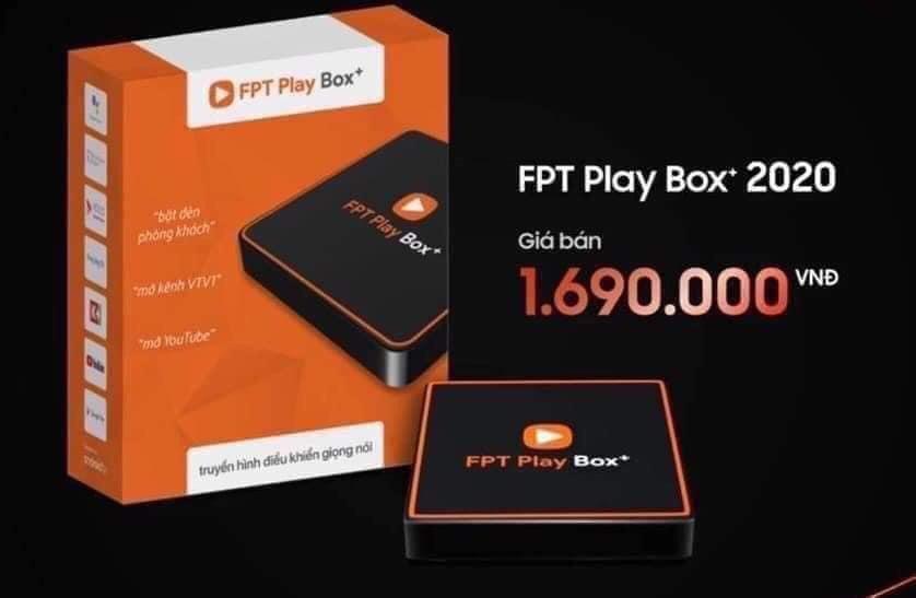 Giá bán FPT Play Box+ 2020